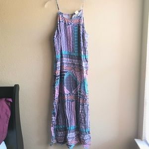 Faded Glory Multi Color Tribal Print Dress Sz 2X